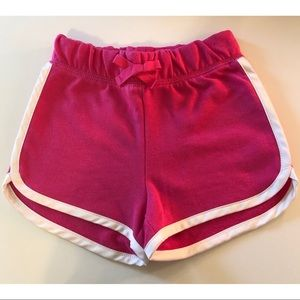 NEW NWT GAP Fuchsia Toddler Shorts